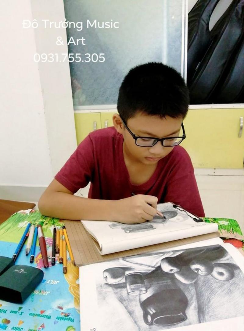 Khai giảng lớp Vẽ Nâng Cao cho bé tại Quận 6
