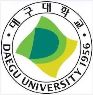 DAEGU UNIVERSITY tuyển sinh học kỳ tháng 9/2018
