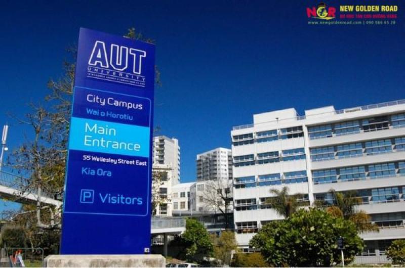 í do nên du học New Zealand tại đại học công nghệ Auckland ?