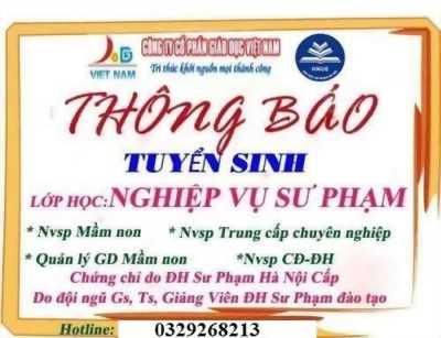 Đào tạo nghiệp vụ sư phạm tại Đà Nẵng