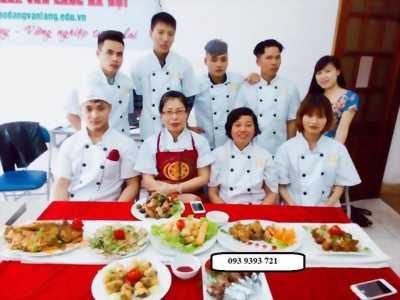 cẤp chỨng chỉ lớp sơ cấp nấu ăn 6 tháng để đi du học lh 0939393721