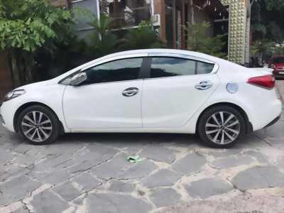 Kia K3 đời 2014 màu trắng bản 2.0 số tự động full option, ghế chỉnh điện, cửa sổ trời