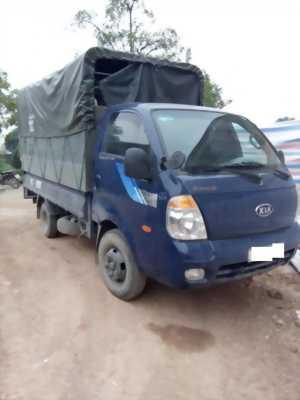 Bán xe Kia Bongo 2005 màu xanh lam nhập khẩu.