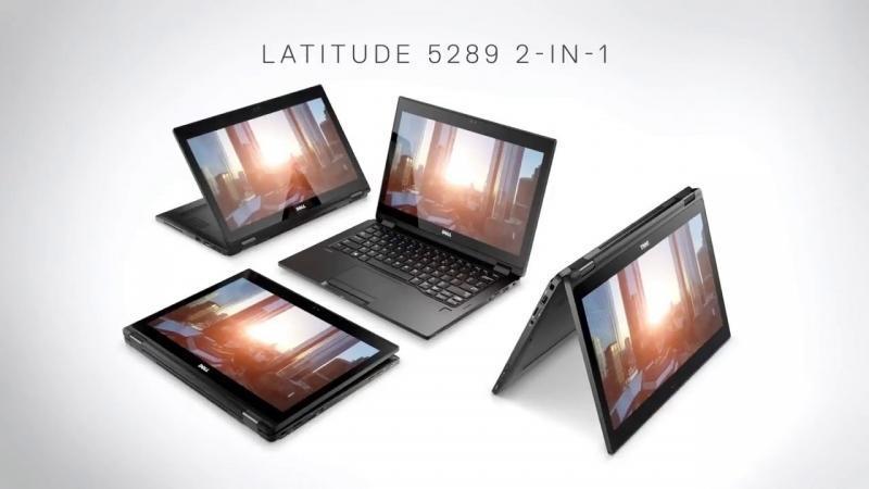 Đánh giá laptop lai 2-trong-1 Dell Latitude 5289