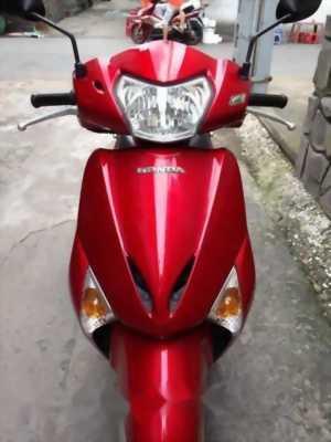 Honda Lead 110cc fi 2011 màu đỏ xe chân chống điện
