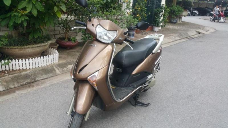 Lead 110 Fi Việt Nam màu Cafe nhạt đăng kí 2010 huyện tiên lãng