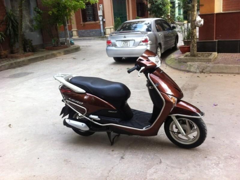 Lead 110 mầu nâu cafe đăng ký cuối 2013 huyện tiên lãng
