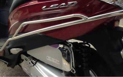 Honda lead 125 phân khối màu đỏ quyến rũ