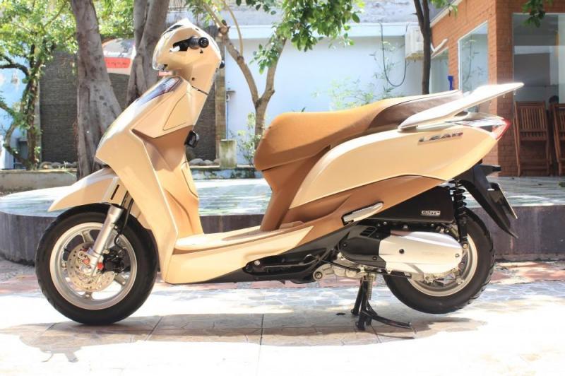 Honda Lead 125cc màu vang be chính chủ