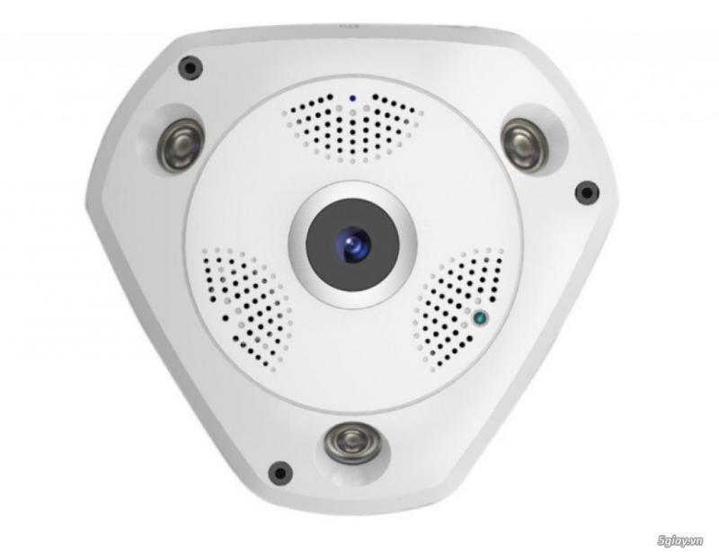 Camera IP VR Cam giám sát 360 độ