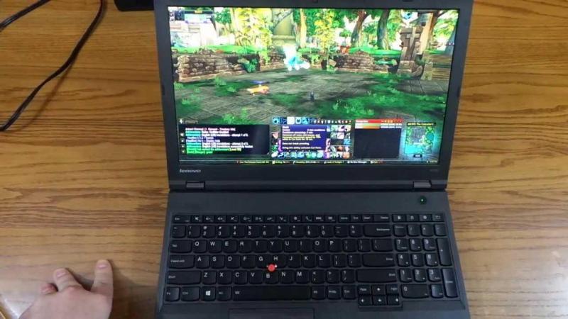 Laptop lenovo y520 i7700hq