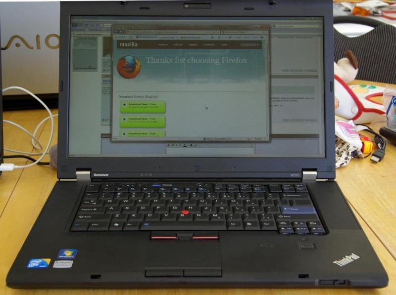 Laptop Thinkpad intel core 2 dual , ram 2gb, 100gb