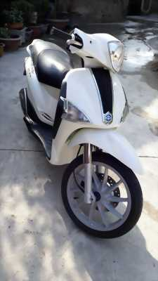 Piaggio Liberty nhập khẩu màu trắng đăng kí 2012 huyện yên thành