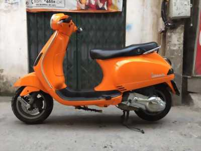 Piaggio Vespa LX 125ie màu cam đăng ký 2012 ch/chủ