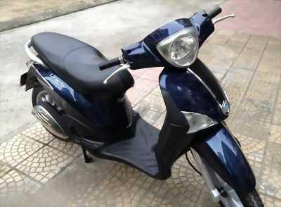 Piaggio Liberty nhập khẩu 125 màu xanh tím đăng ký 2013