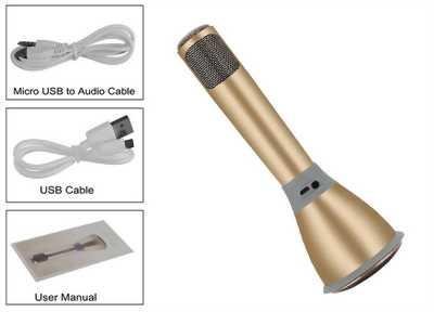 Loa karaoke mirco bluetooth K068