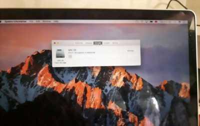 MacBook pro Rentina 13 sản xuất 2013