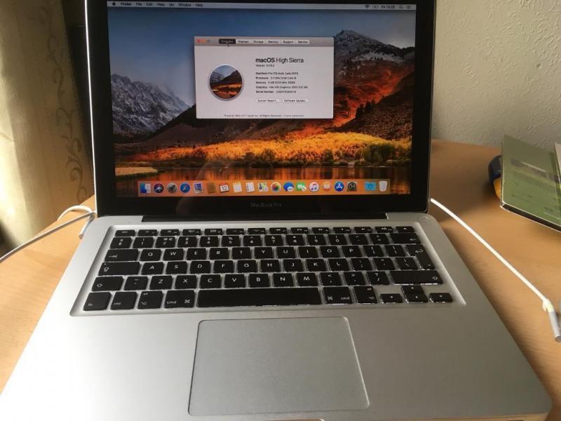 Apple Macbook Pro Late 2011 Core i5 4GB 500 GB