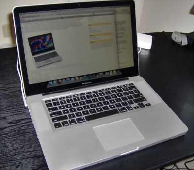 Macbook Pro 2011(MC723) i7 2620QM 8x/4G/SSD120G/15