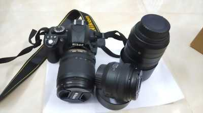 D5100 kiss 18-105, Flash Yongnou 465, Pin Sạc