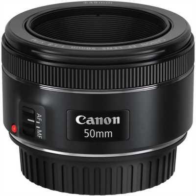 Bán ống kính Canon 50mm f1.8 STM