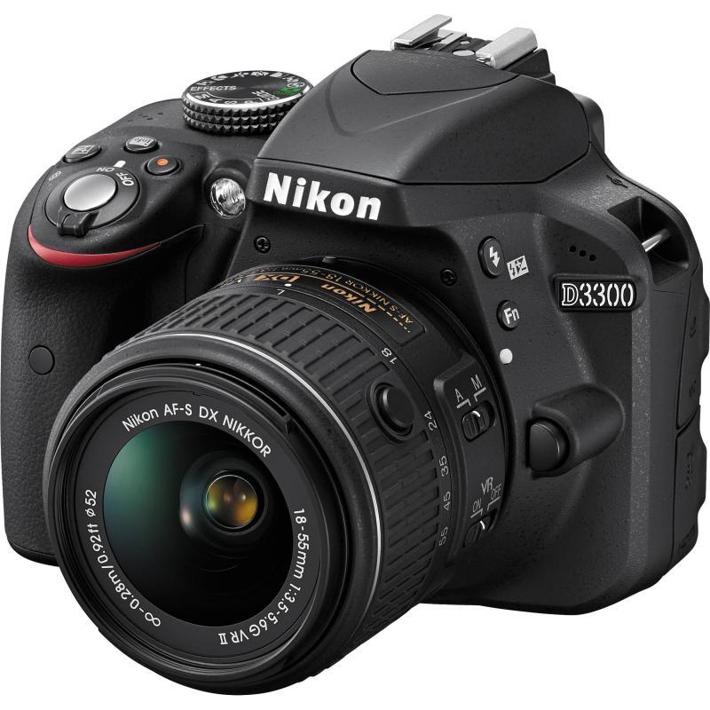 NIKON D3200+LENS 18-55VR