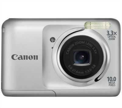 Máy chụp hình Canon A800 không có pin