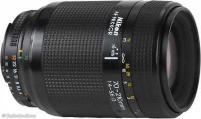 Lens Nikon 70 210