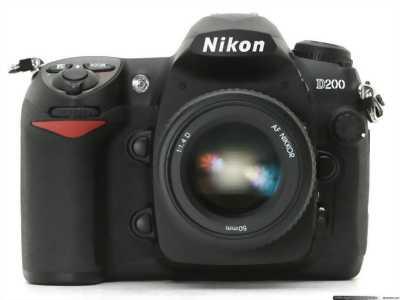 Nikon D200 + kit 18-55 Hồng Ngự