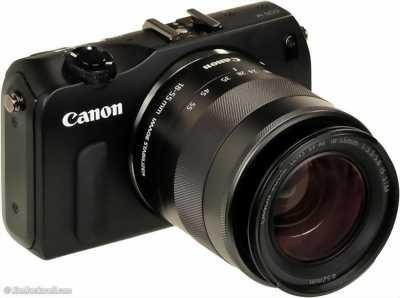 Máy ảnh mirroless canon eos m + kit 18-55