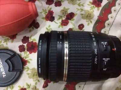 Nikon D90 + lens tamron 18-270 + flash YN 565EX.