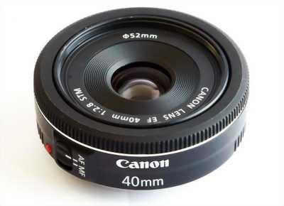 Bán lens canon Ef 40mm 1:2:8
