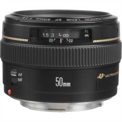 Bán lens canon Ef 50 mm