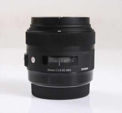 Bán lens sigma 30.1.4