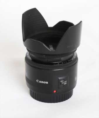 Lens Yongnuo AF 50mm f/1.8 + Hood (98% như mới)