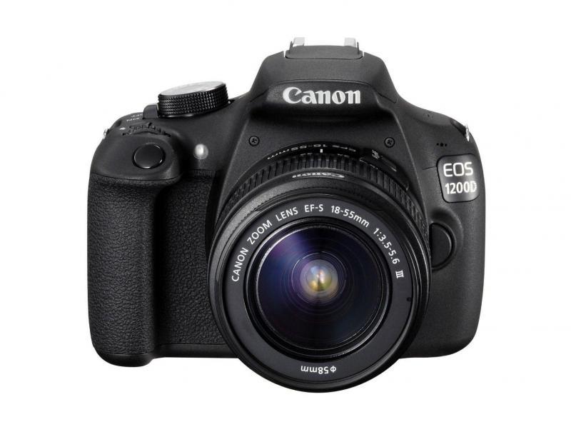 Canon rebel T3 đầy đủ phụ kiện như hình