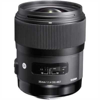 Len Sigma 35 F1.4 art. Xt nhật 99% no box.