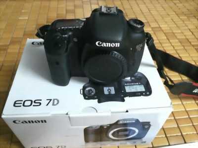 Canon eos 7D zin