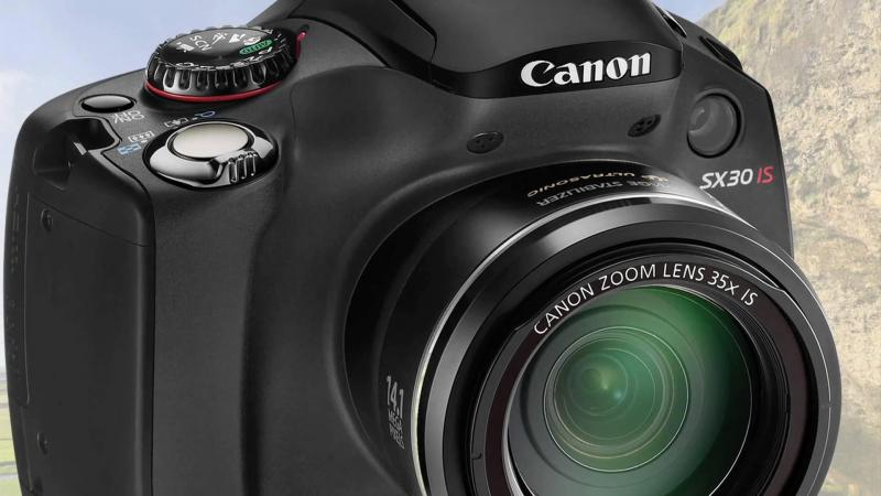 Cannon SX-30IS Lens Zoom 35x