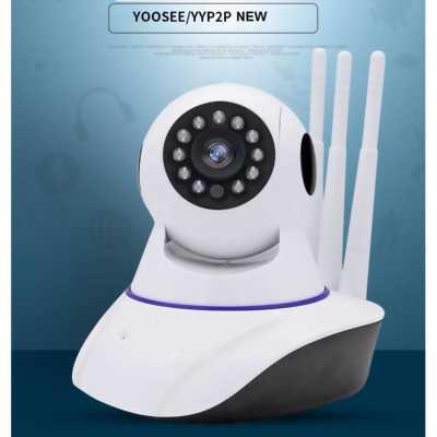 Camera ip 2 râu chống nước ngoài trời thế hệ mới