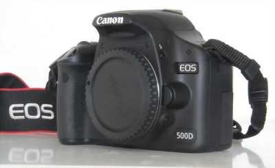 Cần tiền nên bán Canon 500D