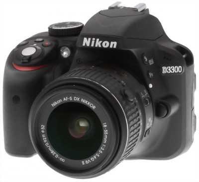 Nikon D3300 - Len Kit - còn bảo hành 1 năm