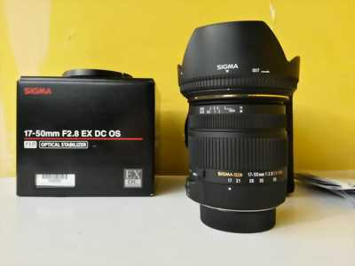 Canon 700D lens sigma 17-50 f2.8
