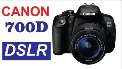 Bộ Canon DSLR 700D Mới Nguyên Hộp Chưa Sử Dụng