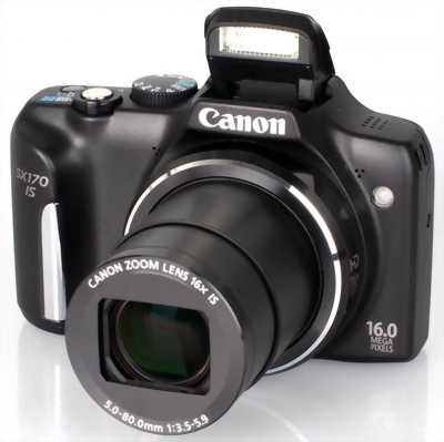 Canon sx 170 is powers