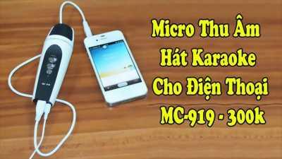 Mix thu âm hát karaoke cho điện thoại máy tính