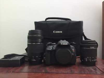 Canon T5i(700D) + lens 18-55 mới toanh