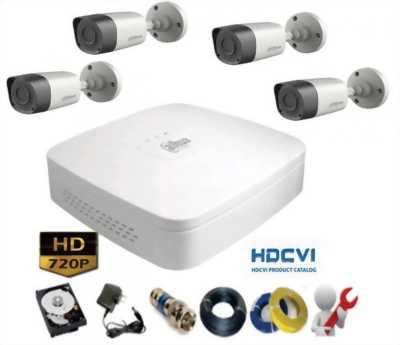 Trọn Bộ 4 Camera Chuẩn HD