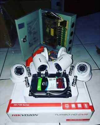 Siêu Tiết Kiệm với 3 Mắt Camera + 1 Ổ Cứng + 1 Đầu Ghi HD.