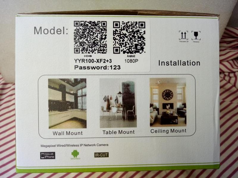Camera IP Wifi 2.0M YooSee - Camera Xoay 360 độ, đàm thoại 2 chiều